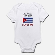 My Cuban Grandma Loves Me Onesie
