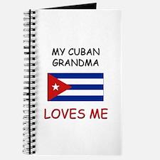 My Cuban Grandma Loves Me Journal