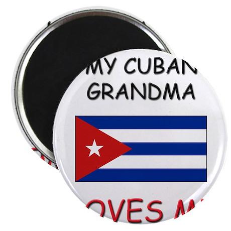 "My Cuban Grandma Loves Me 2.25"" Magnet (10 pack)"