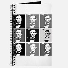 Black and White Pop Art Lincoln Journal