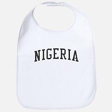 Nigeria Black Bib