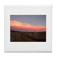 Colorado Sunset Tile Coaster