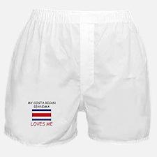 My Costa Rican Grandma Loves Me Boxer Shorts