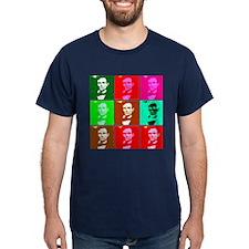 Warholesque Pop Art Lincoln T-Shirt