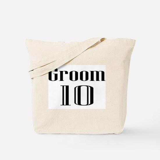 Groom 10 Tote Bag
