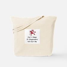 Can't sleep El Chupacabra Tote Bag