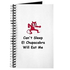 Can't sleep El Chupacabra Journal