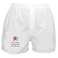 Can't sleep El Chupacabra Boxer Shorts