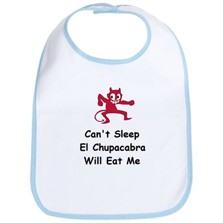 Can't sleep El Chupacabra Bib