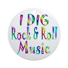 Rock & Roll Ornament (Round)