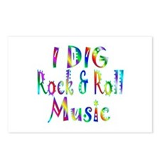 Rock & Roll Postcards (Package of 8)
