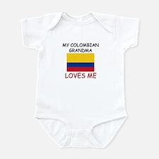 My Colombian Grandma Loves Me Infant Bodysuit