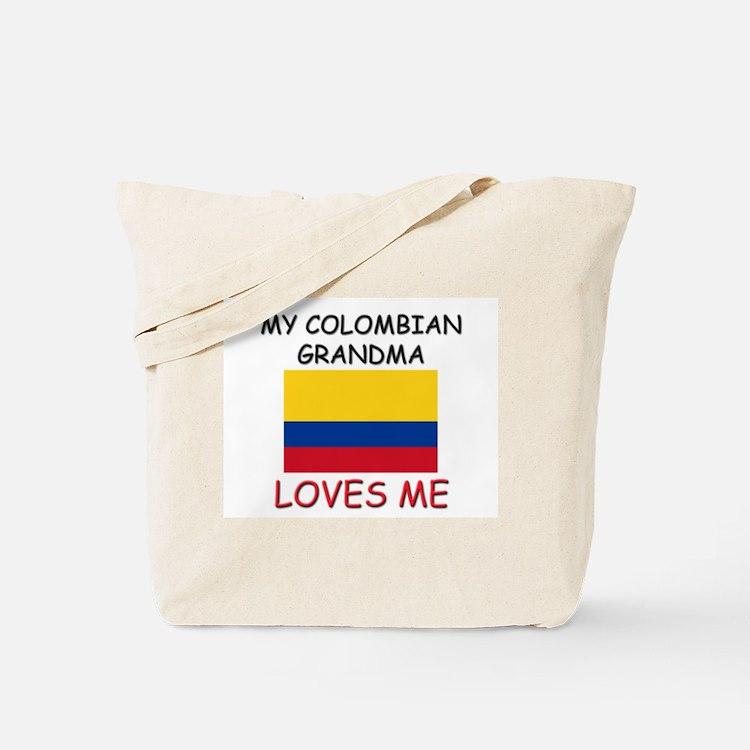 My Colombian Grandma Loves Me Tote Bag