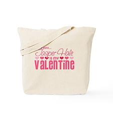 Jasper Twilight Valentine Tote Bag
