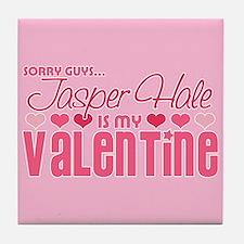 Jasper Twilight Valentine Tile Coaster