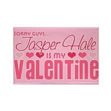 Jasper Twilight Valentine Rectangle Magnet