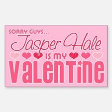 Jasper Twilight Valentine Rectangle Decal