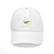 Yellow Otter Baseball Cap