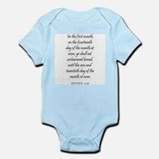 EXODUS  12:18 Infant Creeper