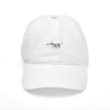 White Otter Baseball Cap