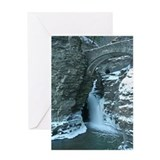 Waterfall cards Greeting Cards
