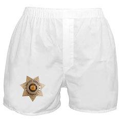 Clackamas County Sheriff Boxer Shorts