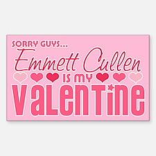 Emmett Twilight Valentine Rectangle Decal