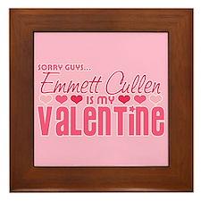 Emmett Twilight Valentine Framed Tile