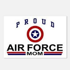 Proud Air force Mom Postcards (Package of 8)