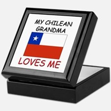 My Chilean Grandma Loves Me Keepsake Box