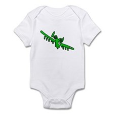 A-10 Green Infant Bodysuit