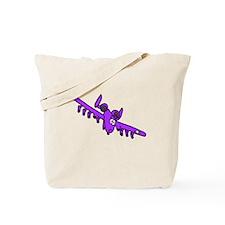 A-10 Purple Tote Bag