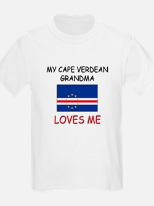 My Cape Verdean Grandma Loves Me T-Shirt