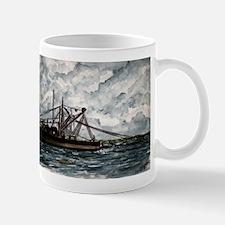 shrimp boat painting nautical Mug