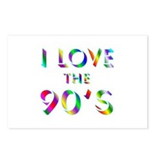 Love 90's Postcards (Package of 8)