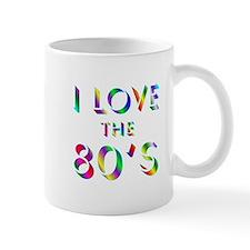 Love 80's Mug