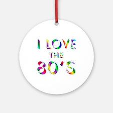 Love 80's Ornament (Round)