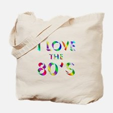 Love 80's Tote Bag