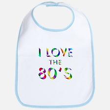Love 80's Bib