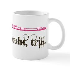 Flute Trill Small Mug