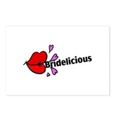 Bridelicious Postcards (Package of 8)