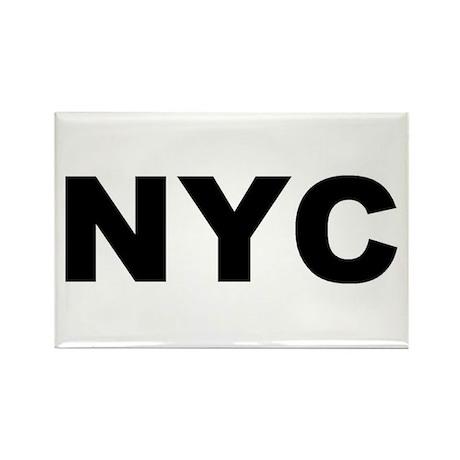 NYC (NEW YORK CITY, NY) Rectangle Magnet