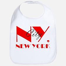 NY CITY, NEW YORK Bib