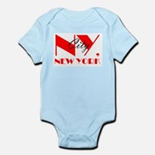 NY CITY, NEW YORK Infant Bodysuit