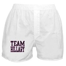 Team Hillary Boxer Shorts