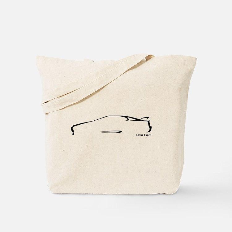 Lotus Esprit Tote Bag