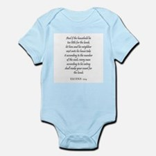 EXODUS  12:4 Infant Creeper