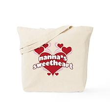NANNA'S SWEETHEART Tote Bag
