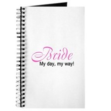 Bride, My Day My Way Journal