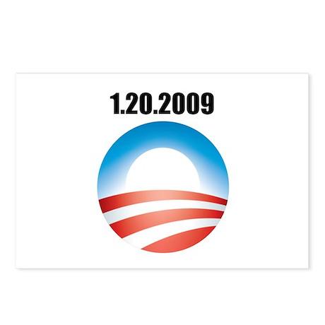 Barack Obama - 1.20.2009 Logo Postcards (Package o